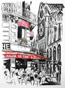 Parisian Cafe med