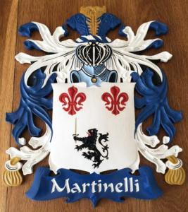 Martinelli finished