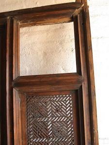 Indian Door empty panel